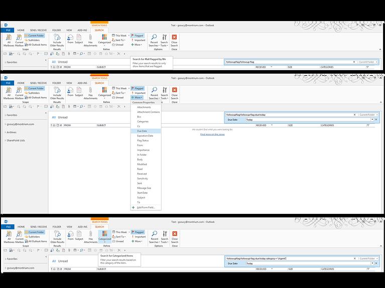 Outlook-Screenshots