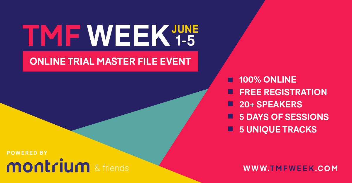 Event for Trial Master Files, TMF Reference Model, compliance, sponsor oversight, audit