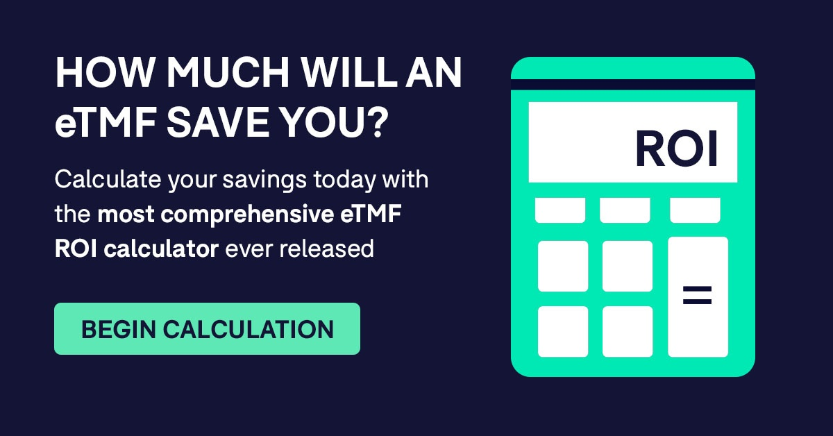 eTMF ROI Calculator